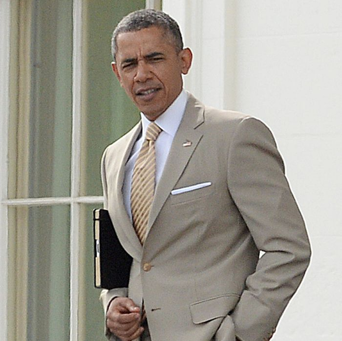 Image result for obama tan suit