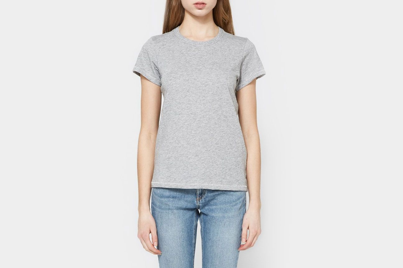 Rag & Bone The Tee in Heather Grey
