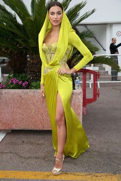 Irina Shayk is seen on day 8 of the 67th Annual Cannes Film Festival on May 21, 2014 in Cannes, France.