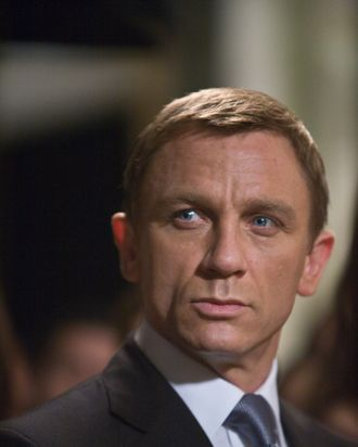 Daniel Craig in Quantum of Solace.