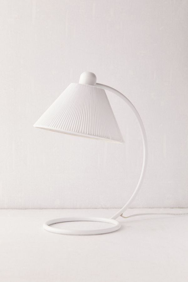 Marlie Curved Metal Table Lamp