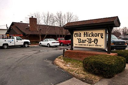 <b>The Destination:</b> Old Hickory Pit Bar-B-Q in Owensboro, Kentucky  <b>How to Get There:</b> Owensboro is about an hour south and east of Evansville Regional Airport, and roughly a two-hour drive from Louisville International Airport.  <b>When to Go:</b> Any time.     While Memphis and Carolina barbecue traditions hinge on smoked pork products, and Kansas City and Texas are based more on beef, Western Kentucky's preferred 'cue is mutton, as in full-grown, intensely flavorful, and unabashedly gamey sheep. In Owensboro there's no shortage of smokehouses and charcoal pits that specialize in the regional specialty. But Old Hickory is one of the best.    <i>Old Hickory Pit Bar-B-Q, 338 Washington Ave., Owensboro, KY; 270-926-9000</i>