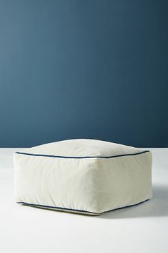 Anthropologie Velvet Pouf
