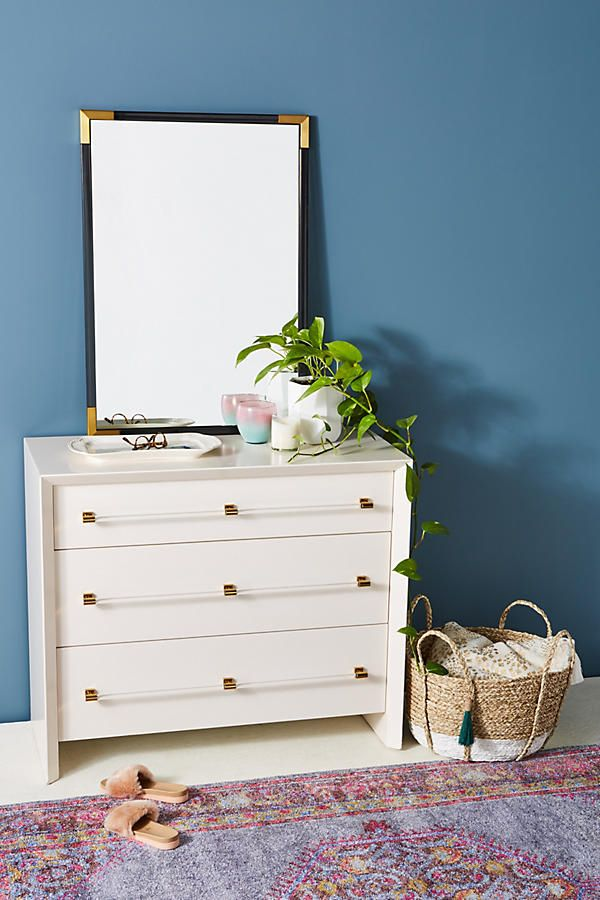 Merriton Three-Drawer Dresser