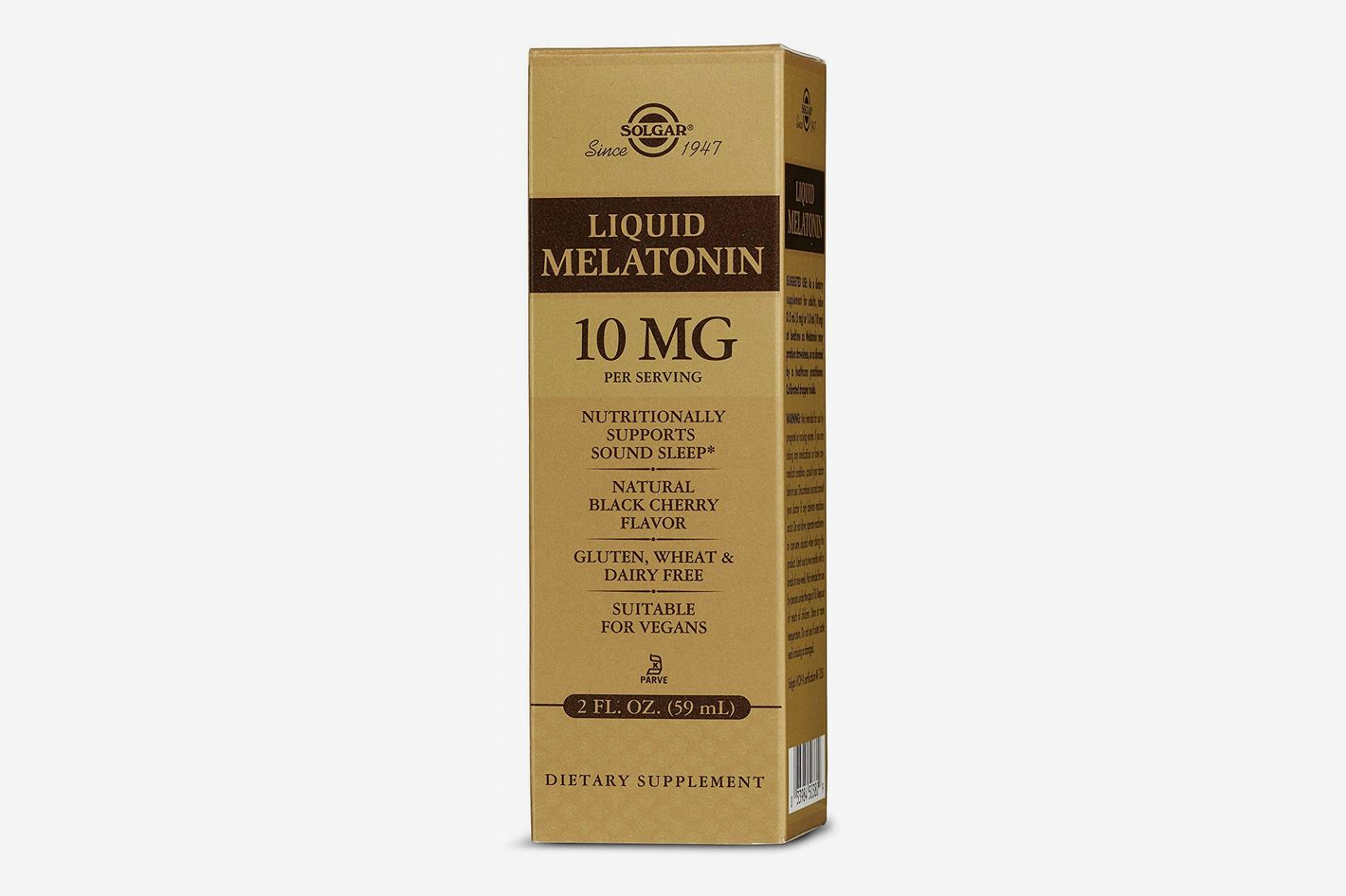 Solgar Liquid Melatonin, 10 mg