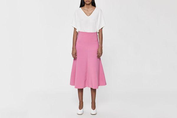 A.W.A.K.E. Bright Flare Skirt