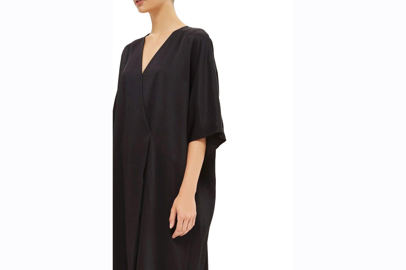 Topshop Crepe Kimono Dress