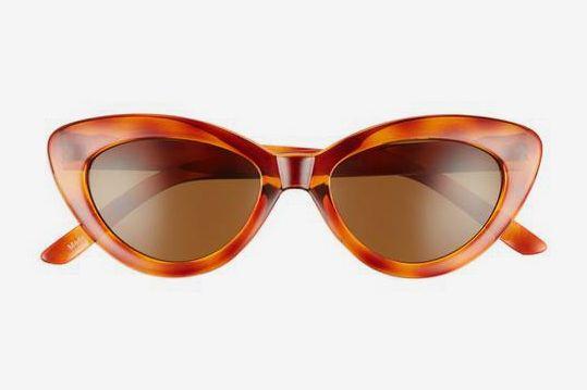 51mm Mini Cat Eye Sunglasses