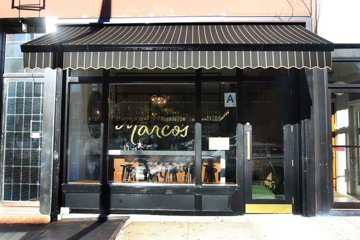 Marco's, back before anyone had ever heard of the polar vortex.