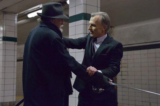"THE STRAIN ""For Services Rendered"" -- Episode 7 (Airs Sunday, August 24, 10:00 pm e/p) -- Pictured: (L-R) David Bradley as Abraham Setrakian, Richard Sammel as Thomas Eichhorst."