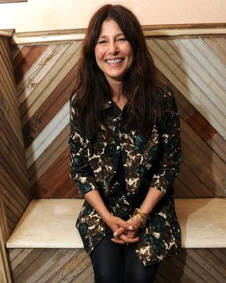 Catherine Keener attends a dinner party celebrating 25 years of