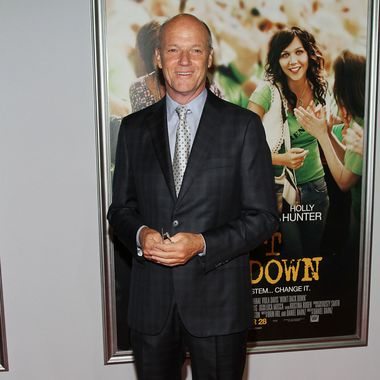 """MSNBC President Phil Griffin attends the """"Won't Back Down"""" New York Premiere at Ziegfeld Theater on September 23, 2012 in New York City"""
