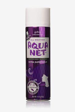 Aqua Net Extra Super Hold Professional Hair Spray, Unscented, 11 oz.