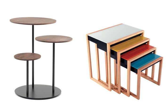 2x2: Nesting Side Tables Set, Stack.
