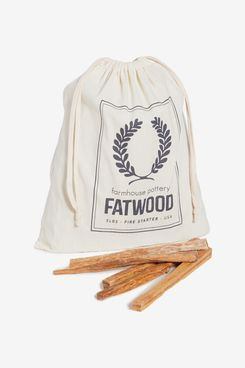 Farmhouse Pottery Fatwood Bag