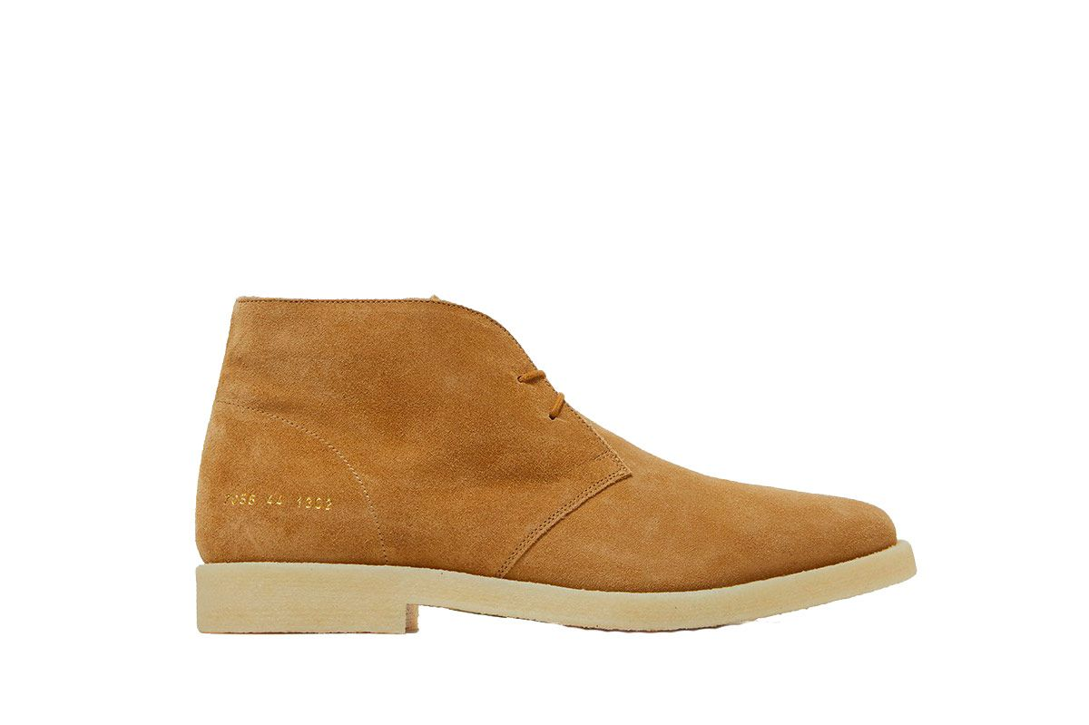 Common Projects Chukka in Tan Suede