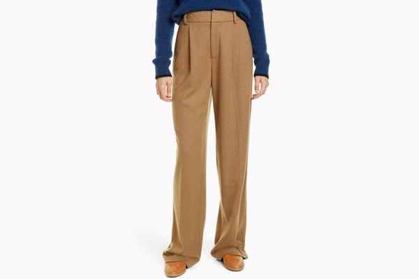 Vince Cozy Wide Leg Wool Blend Pants