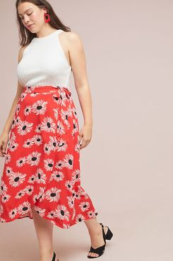 Colloquial Wrap Skirt