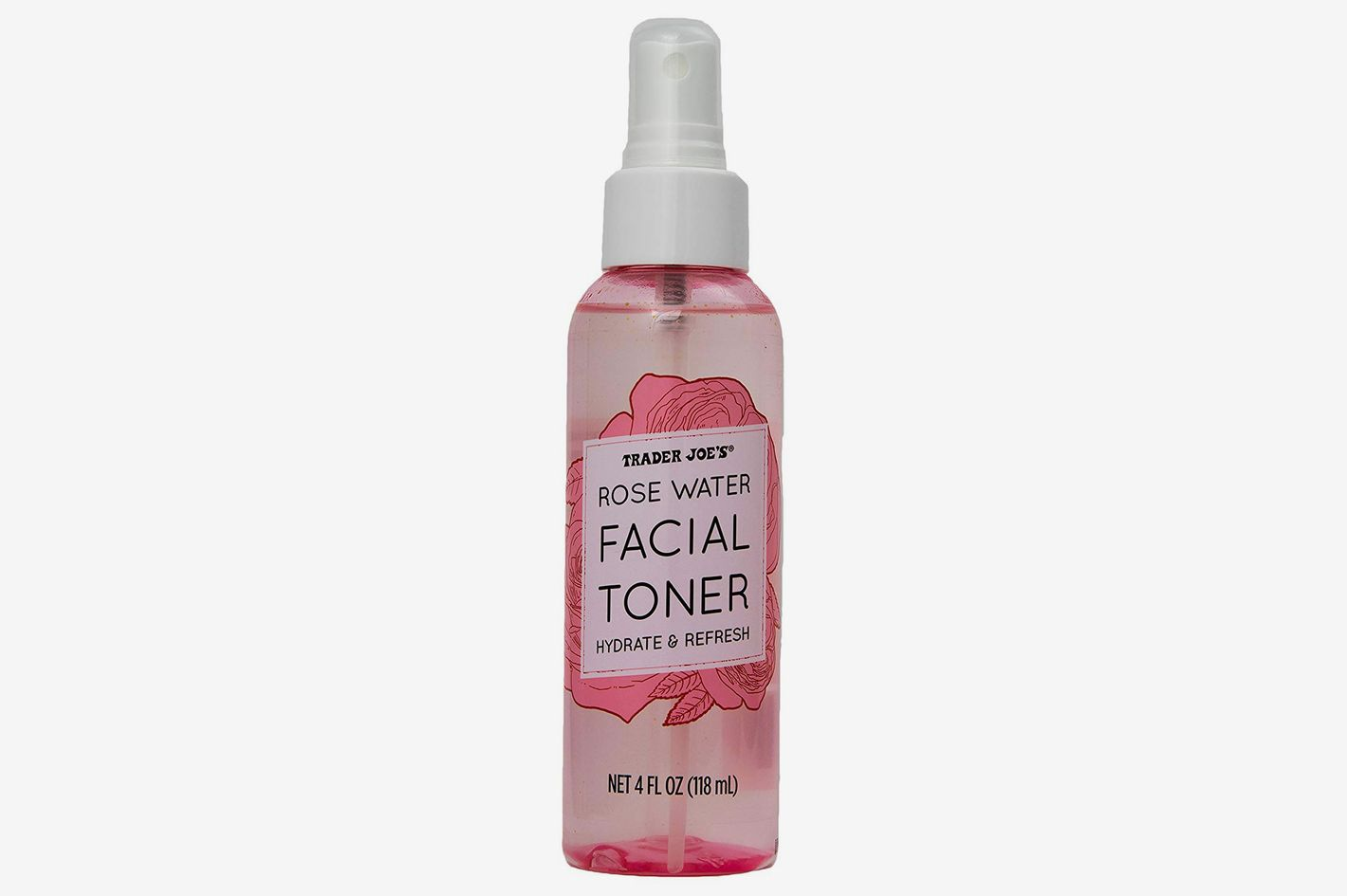 Rose Water Facial Toner Hydrate and Refresh by Trader Joe's