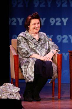 Suzy Menkes.