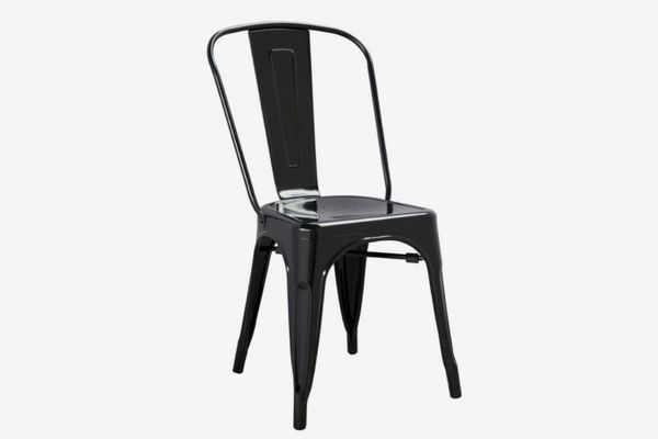 Aron Living Modern Black Tolix Side Chair