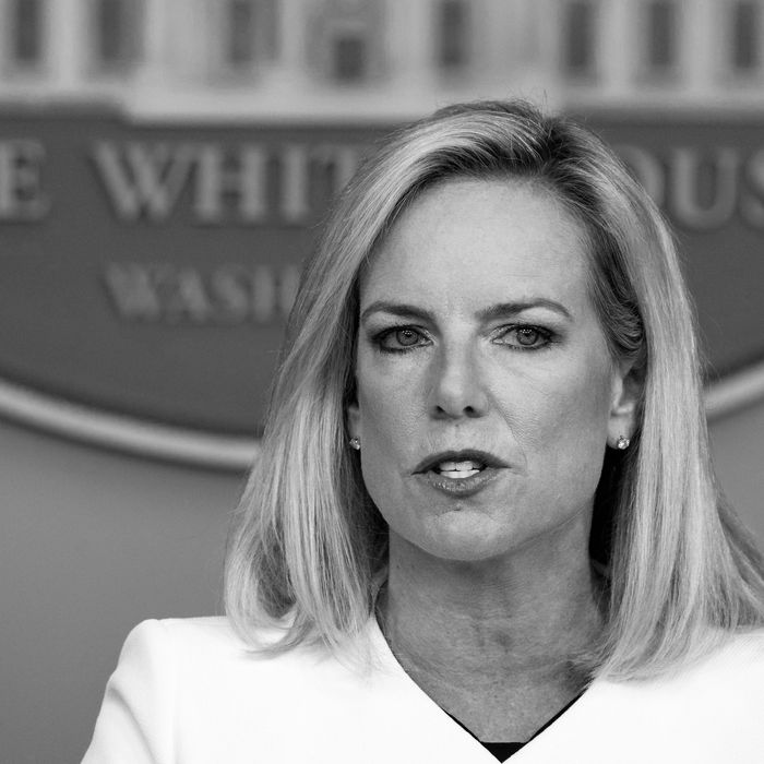 Secretary of Department of Homeland Security Kirstjen Nielsen.