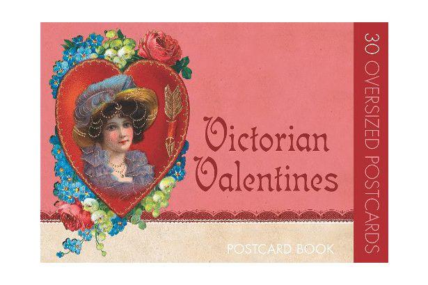 Victorian Valentines: Postcard Book