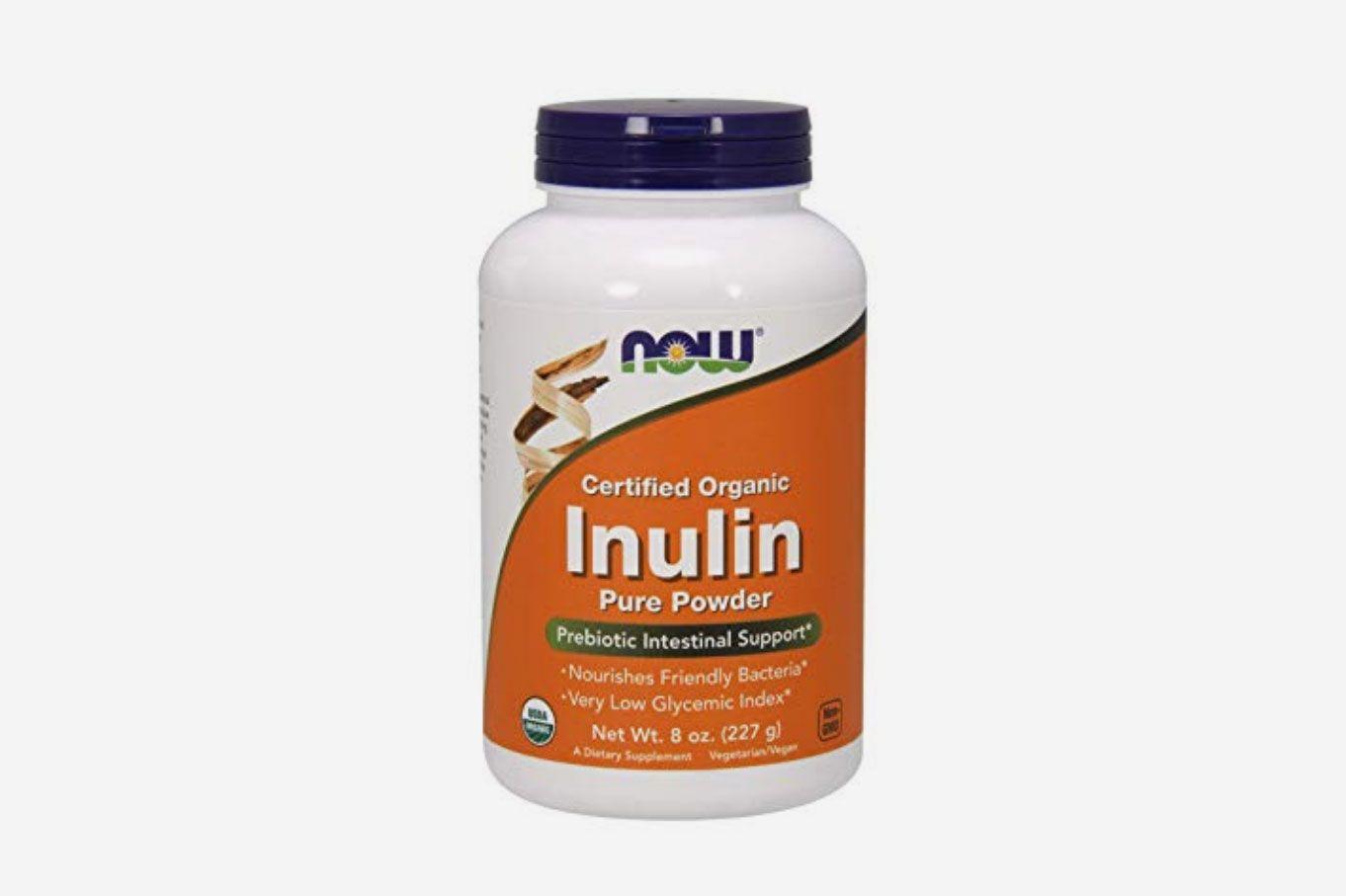 NOW Foods Inulin Prebiotic FOS