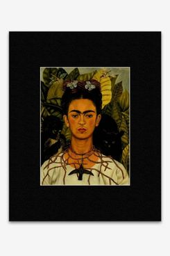 Frida Kahlo - Self-Portrait With Thorn Necklace and Hummingbird 1940 Mini Poster - 40.5x30.5cm
