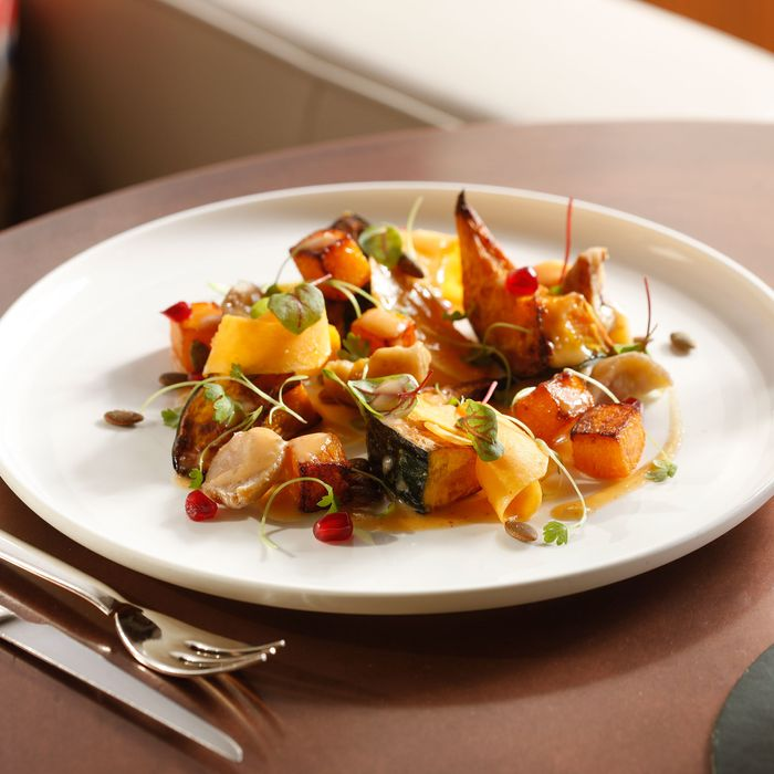 Gabriel Kreuther's roasted heirloom-squash salad.