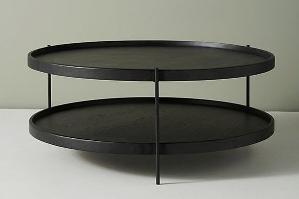 Noir Tiered Coffee Table