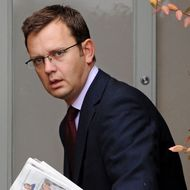 (FILES) This file picture taken on September 10, 2010 shows Andy Coulson, former British Prime Minister David Cameron's Director of Communications and former News of the World editor leaving his home in London. British Prime Minister David Cameron said Friday July 8, 2011 he would establish a full public inquiry led by a judge into the News of the World scandal as one of his former aides faced arrest over phone hacking. In a hastily arranged press conference a day after Rupert Murdoch stunningly killed off the Sunday newspaper, Cameron said he took