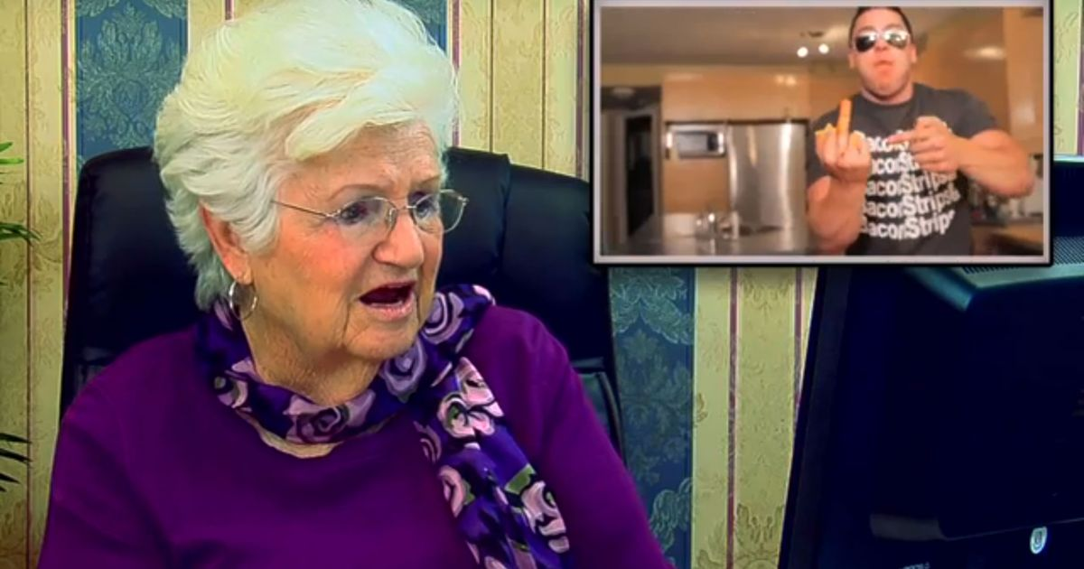 Watch Older Folks Get Freaked Out Over <em>Epic Meal Time</em