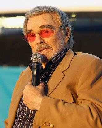 Burt Reynolds. Photo: Diego Donamaria/Getty Images for SXSW
