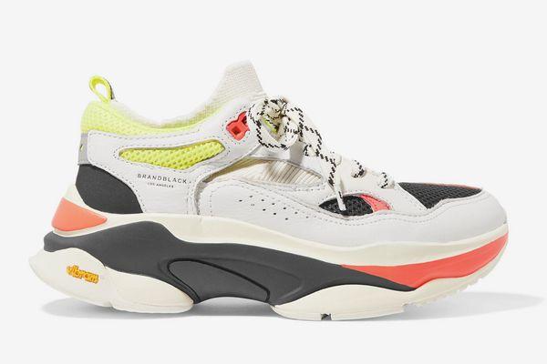 Brandblack Sage Mesh Panel Sneakers