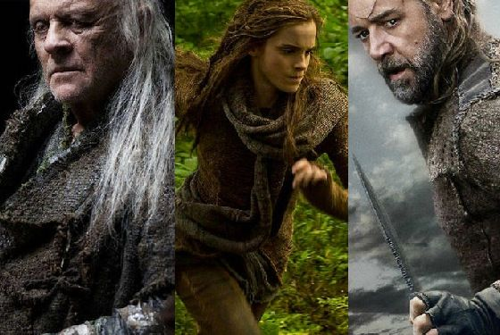 Check out russell crowe emma watson and more in darren aronofsky's