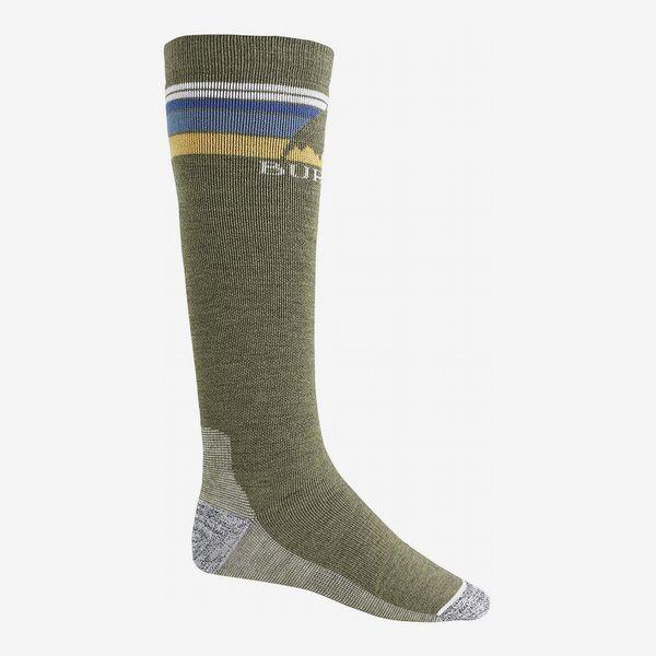 Burton men's emblem midweight ski/snowboard sock