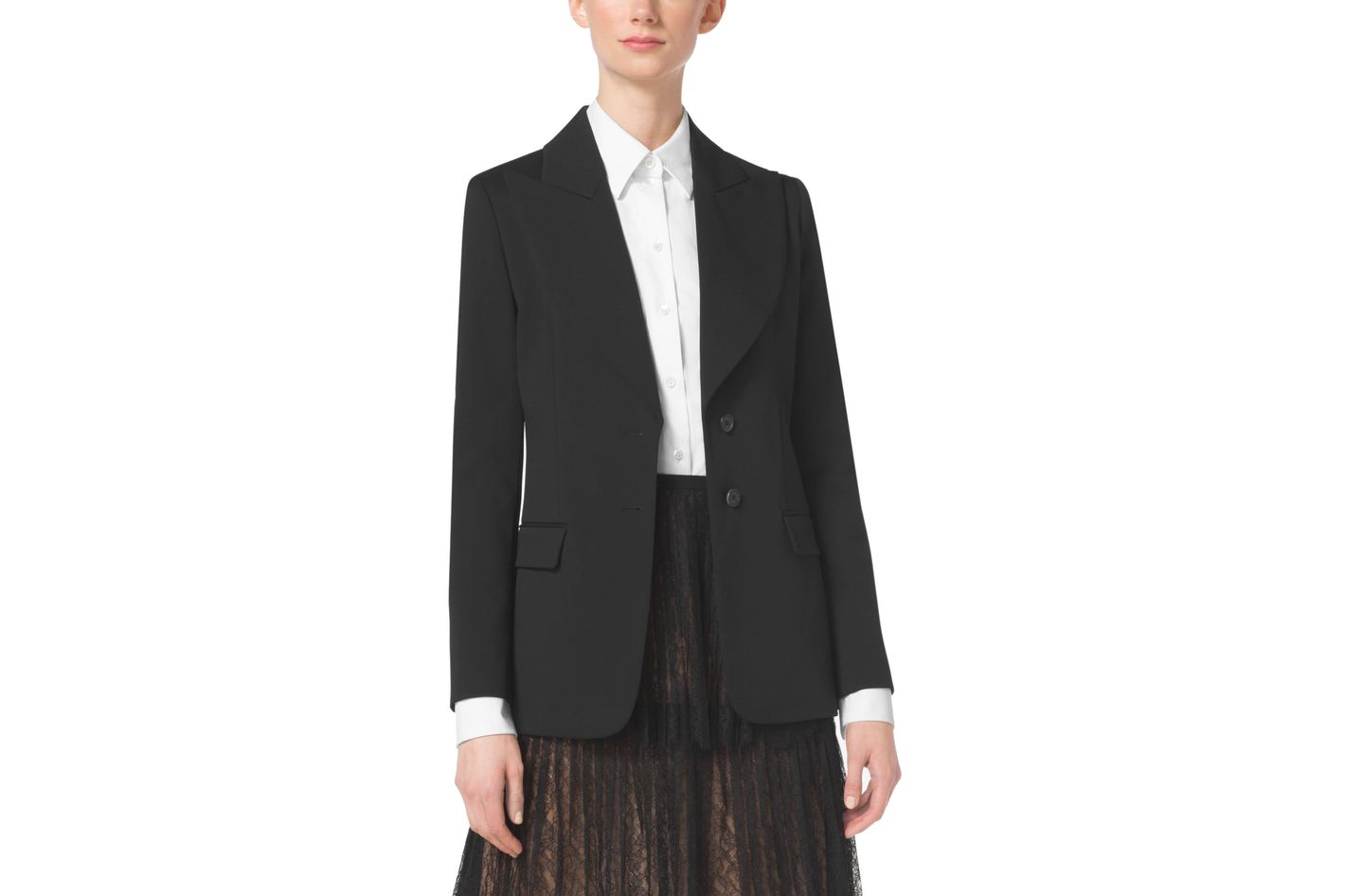 Michael Kors Collection Wool-Gabardine Jacket