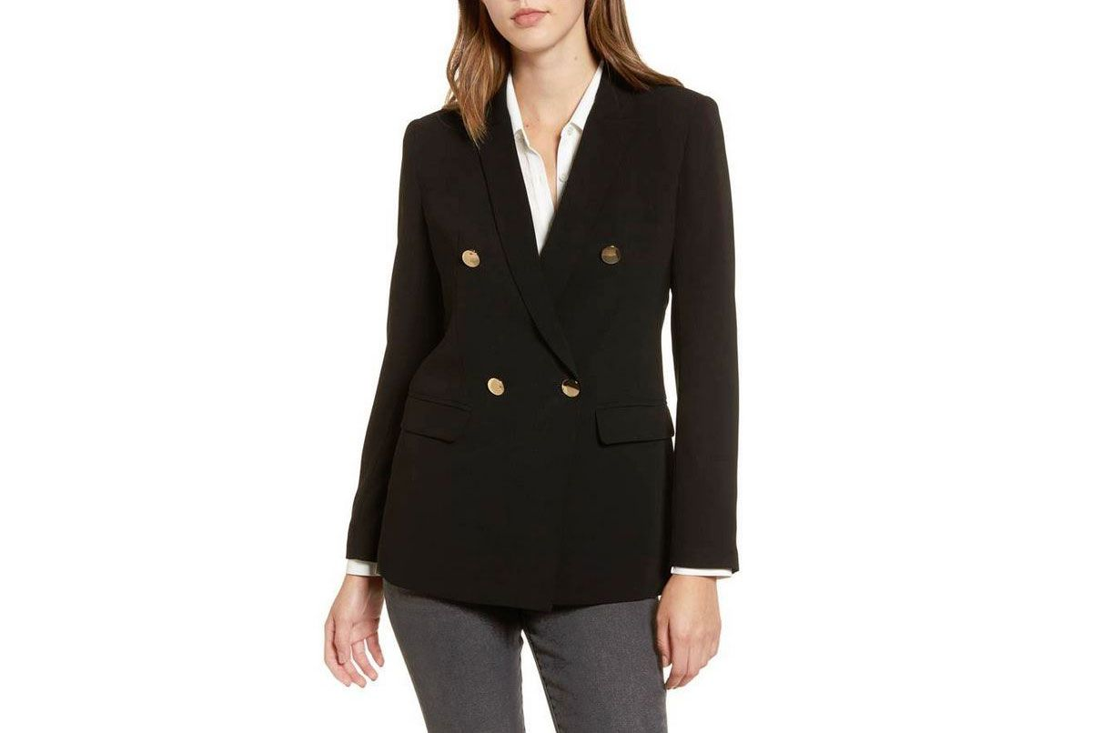 Mural Oversize Double Breasted Blazer