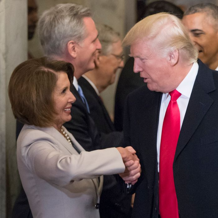 Image result for trump and pelosi