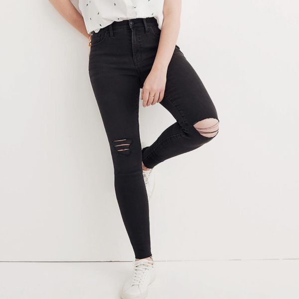 Madewell 9-Inch Mid-Rise Skinny Jeans