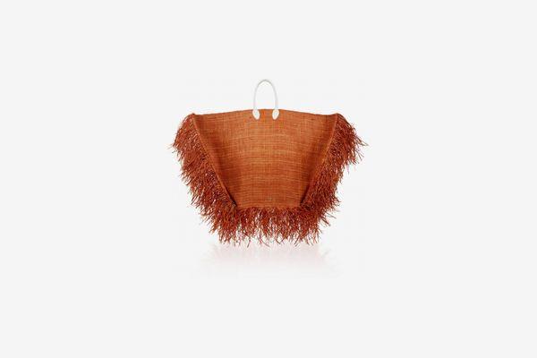 Jacquemus Le Grand Baci Raffia Bag