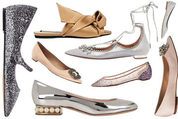 569a6ed32a4 These Flats Are Fancy Enough to Replace Your Wedding HeelsAs pretty as  stilettos