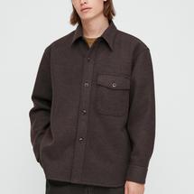 Uniqlo Men U Fleece Long-Sleeve Shirt Jacket