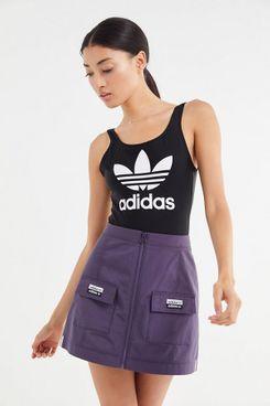 adidas Originals X Kylie Jenner Ripstop Zip-Front Mini Skirt