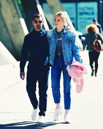 Joe Jonas and Sophie Turner.