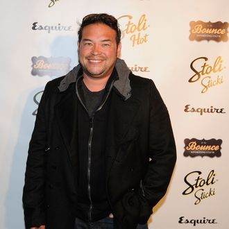 Television personality Jon Gosselin attends Toasting the 2012 NFL Draft Class kick-off at the Bounce Sporting Club on April 24, 2012 in New York City.