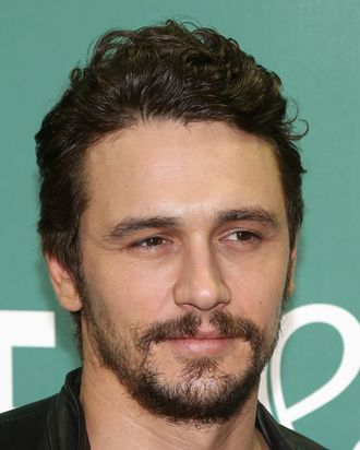 NEW YORK, NY - MAY 14: Actor James Franco promotes