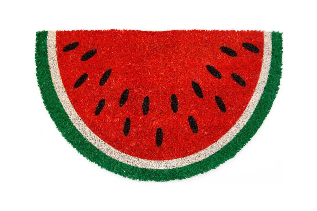 Entryways Watermelon Nonslip Coconut Fiber Doormat