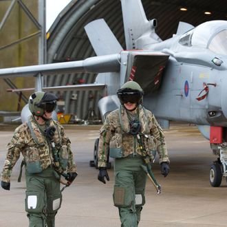 RAF Units Prepare After Yes Vote On Syria Strikes